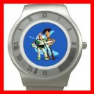 TOY STORY WOODY & BUZZ KIDS Stainless Steel Wrist Watch Unisex 189