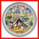 Mickey Mouse Friends Family Kids Decor Wall Clock-Silver 031