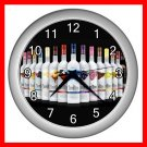 Three Olives Vodka Wine Decor Wall Clock-Silver 033