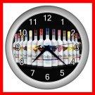 Three Olives Vodka Wine Decor Wall Clock-Silver 033