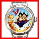 Aladdin Jasmine Fly Kids Italian Charm Wrist Watch 628