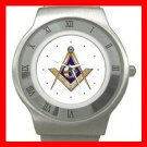 FREEMASONRY MASON Stainless Steel Wrist Watch Unisex 191