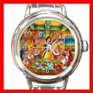 Snow White & Seven Dwarf Kids Italian Charm Wrist Watch 636