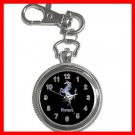 Ferrari Collectable Silvertone Key Chain Watch 008