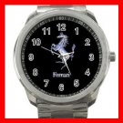 Ferrari Collectable Silvertone Sports Metal Watch 010