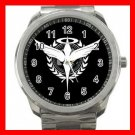 CELESTIAL BEING GUNDAM 00 Silvertone Sports Metal Watch 022