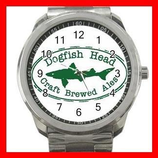 DogFish Head BEER Hobby Silvertone Sports Metal Watch 023