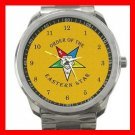 OES Order Of The Eastern Star Silvertone Sports Metal Watch 025