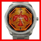 Thunderbird Myth Silvertone Sports Metal Watch 050