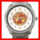 Hot Celtic Dragonfly Silvertone Sports Metal Watch 056
