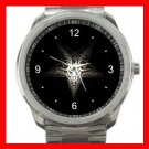 Goat Wicca Pentagram Pentacle Witch Silvertone Sports Metal Watch 159