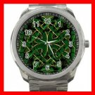 CELTIC CROSS Irish Cross Silvertone Sports Metal Watch 165
