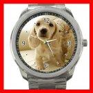 MINI DACHSHUND DOGS PET Silvertone Sports Metal Watch 169