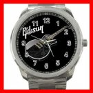 Gibson Les Paul Guitar Band Silvertone Sports Metal Watch 174