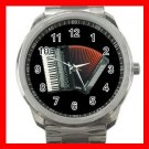 ACCORDION Music Band Fun Silvertone Sports Metal Watch 178