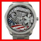 EMT PARAMEDIC AN AMERICAN HERO Silvertone Sports Metal Watch 203