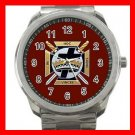 Knights Templar Masonic Silvertone Sports Metal Watch 165