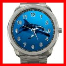 Dusky Dolphin Underwater Sea Marine Silvertone Sports Metal Watch 233