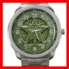 The Wiccan Rede Hobby Silvertone Sports Metal Watch 270