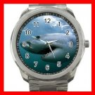 Great White Shark Gansbaai Sea Silvertone Sports Metal Watch 276
