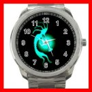 Kokopelli Kokopele Love Silvertone Sports Metal Watch 280