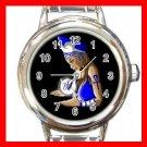 Zeta Phi Beta Round Italian Charm Wrist Watch 643
