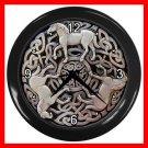 Celtic Knot Horses Decor Wall Clock-Black 048
