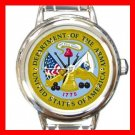 USA Department Of The Army Round Italian Charm Wrist Watch 655