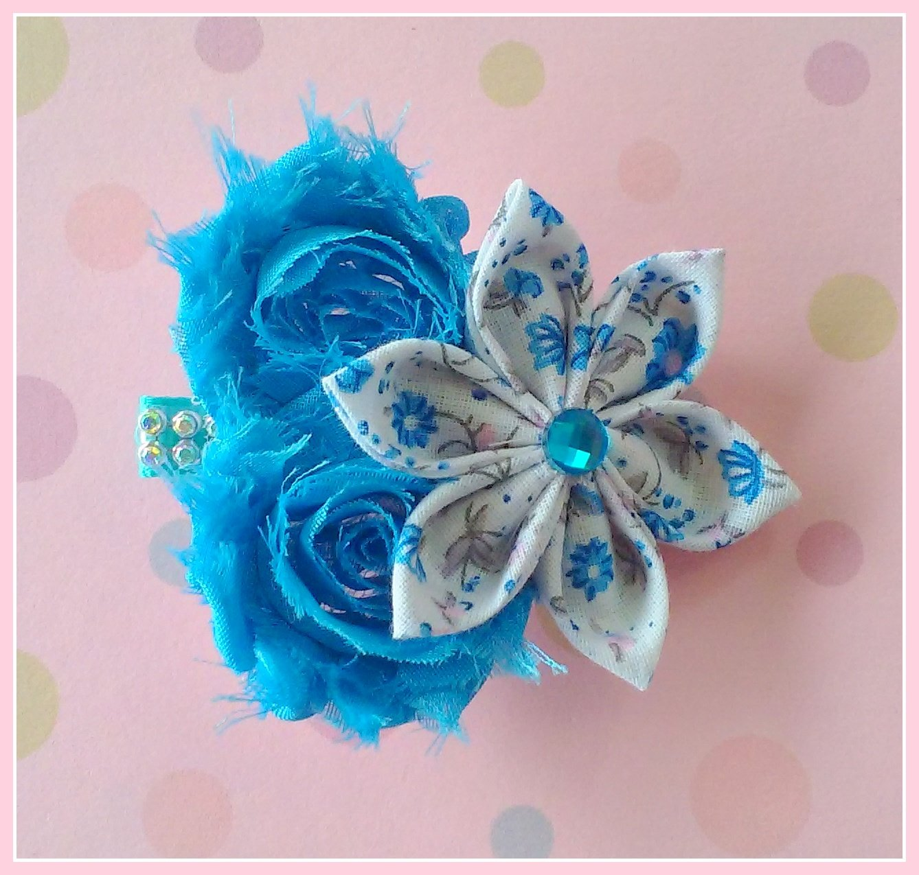 Blueberry Flower Cluster Clip
