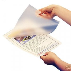 Laminating / Laminator Pouches 9 X 11-1/2 Letter Size 3 MIL 100 pack - Office Supplies