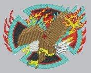 1780 Eagle Jacket Back