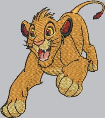 1812 Simba cartoon lion