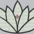 1816 White Lotus Flower