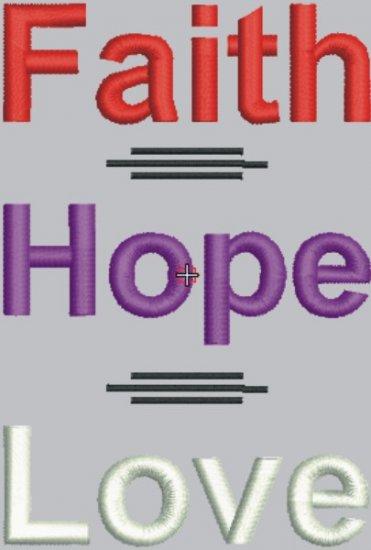 1832 Faith-Hope-Love