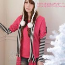 [RU-851778] Red Top :|With Scarf|: