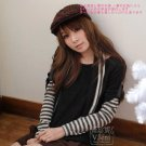 [RU-851777] Black Top :|With Scarf|: