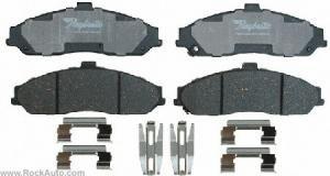 CORVETTE FRONT CERAMIC BRAKE PADS & CADILLAC XLR