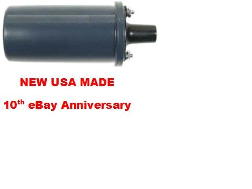 6 VOLT 6v IGNITION COIL UNIVERSAL DOMESTIC & IMPORT