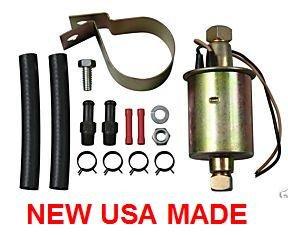 MG MIDGET MG1100 ELECTRIC FUEL PUMP IN LINE 4psi-6psi 26gph