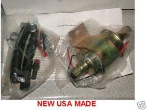 ELECTRIC FUEL PUMP UNIVERSAL EXTERNAL IN LINE 2.5-4psi 30gph NEW USA MADE