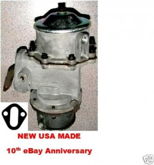CHEVROLET FUEL VACUUM PUMP 216 235 1942 1946 1947 1948 1949 1950 1951 GMC 228 270 248 302 1947-1953