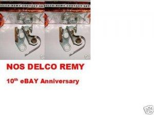 DELCO REMY POINTS CHEVROLET 1955 1956 CORVETTE 1955 V8