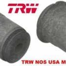 REAR CONTROL ARM BUSHINGS RIVIERA ELDORADO SEVILLE TORO