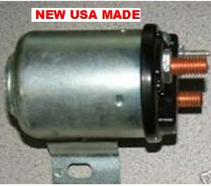 STARTER SOLENOID AMC 1960 1961 1962 MARINE DODGE TRUCK