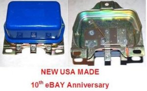 VOLTAGE REGULATOR MERCURY 1957 1958 1959 1960 1961 -64