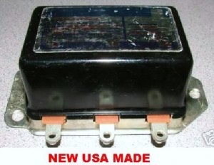 VOLTAGE REGULATOR RAMBLER STUDEBAKER CHEVROLET & GM