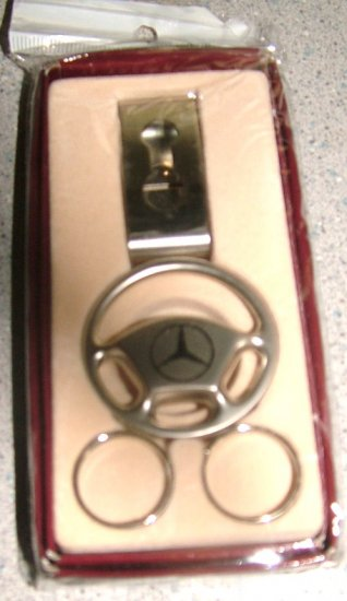 Keychain mercedes benz gift boxed for Mercedes benz gifts
