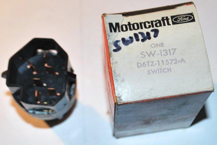 NEW MOTORCRAFT IGNITION SWITCH 1977 RANCHERO F100 F150 F250 F350 E100 E150 E250 E350