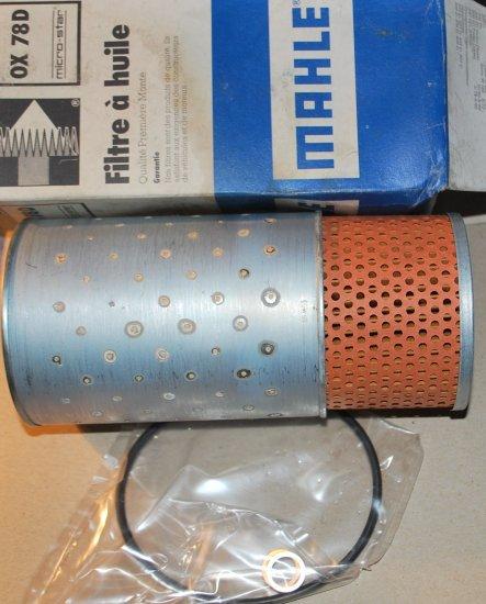 MAHLE OIL FILTER MERCEDES 240D 300D 300CD 300CDT 300DT 300SD