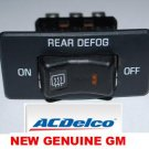 DEFOGGER SWITCH CHEVROLET GMC VAN 1996 1995 1994 1993 1992 NEW DELCO GM PART